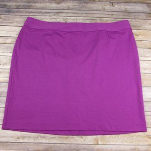 Lane Bryant Knit Skirt Size 28